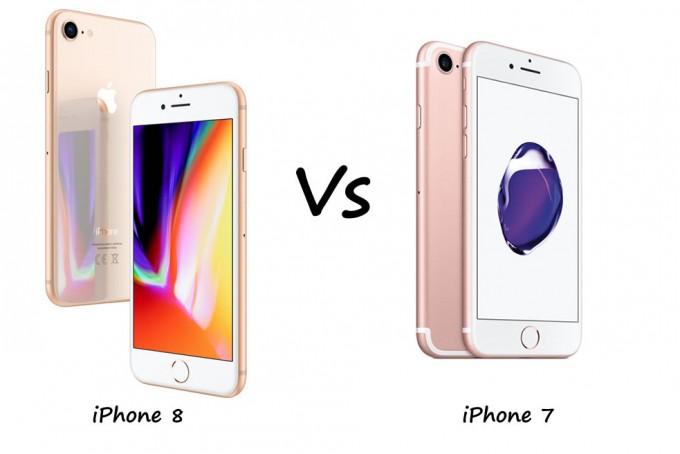 Display bei iPhone 7 vs. Display bei iPhone 8 – gibt es große Unterschiede?