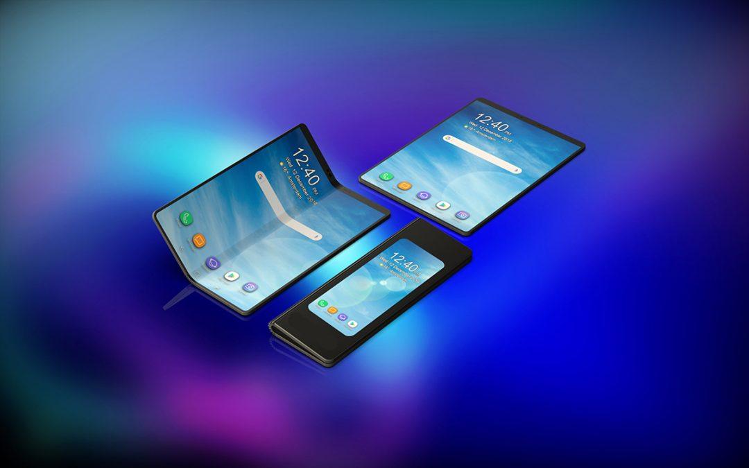Kolejny pomysł na składanego Samsunga